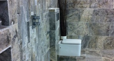 A unique Wet Room design available to see at our Showroom